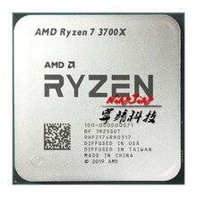 AMD Ryzen 7 3700X R7 3700X3.6 GHz שמונה ליבות Sinteen חוט מעבד מעבד 95 W 7NM l3 = 32 M 100 000000071 שקע AM4
