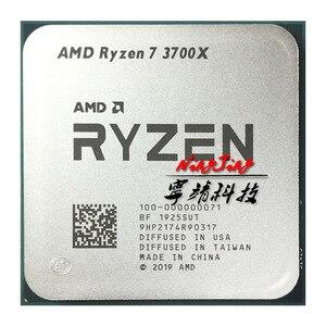 Image 1 - AMD Ryzen 7 3700X R7 3700X3.6 GHz שמונה ליבות Sinteen חוט מעבד מעבד 95 W 7NM l3 = 32 M 100 000000071 שקע AM4