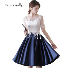 Buy navy blue lace homecoming dresses and get free shipping on  AliExpress.com f8e0b26ac9a4