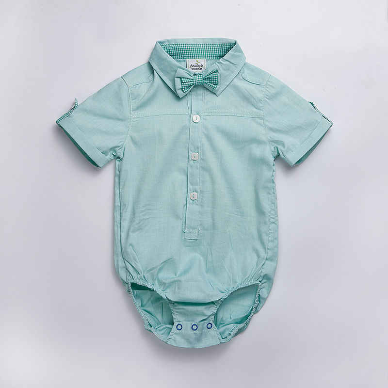Baby-clothes-2017-summer-baby-Kids-newborn-outfit-baby-Boy-short-sleeve-baby-formal-shirt-Vestidos-Meninas-Roupas-Bebes-2