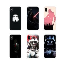 For Sony Xperia Z Z1 Z2 Z3 Z5 compact M2 M4 M5 C4 E3 T3 XA Huawei Mate 7 8 Y3II Darth Vader Star Wars Silicone Phone Shell Cases(China)