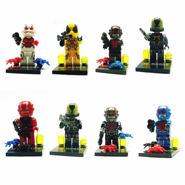 Popular Ant Man Lego Figure-Buy Cheap Ant Man Lego Figure lots ...