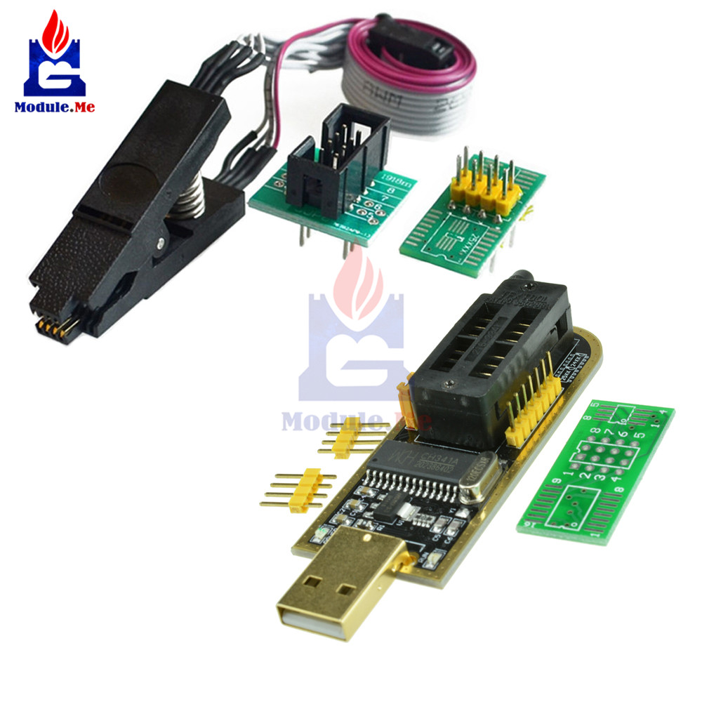 Soic 8 sop8 IC test Clip programmer Adaptateur Board Cable EEPROM BIOS tl866-81