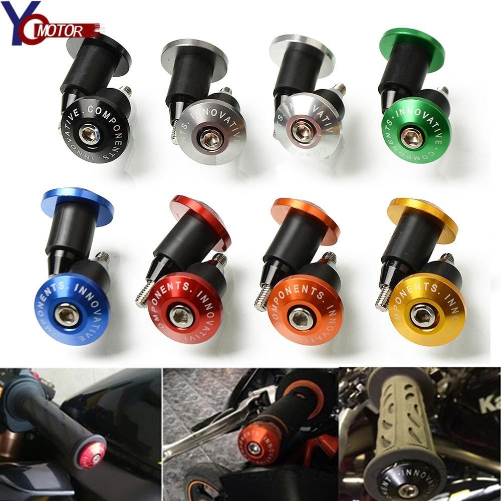 FOR DUCATI MONSTER 696 796 796 848 HUSQVARNA TX/TC/TE125-300 7/8''22 motorcycle handlebar cap motocross handle bar grips ends