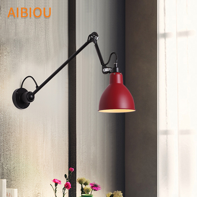 Aibiou modern adjustable wall lights led wall sconce for bedroom e27 aibiou modern adjustable wall lights led wall sconce for bedroom e27 wall lamp with flexible arm mozeypictures Images
