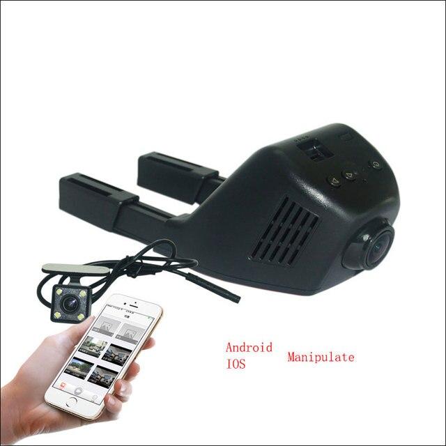 Dual Camera For LIFAN X50 Dash Cam APP Control Car Wifi DVR Novatek 96658 Car Black Box Camcorder night vision G-sensor wdr