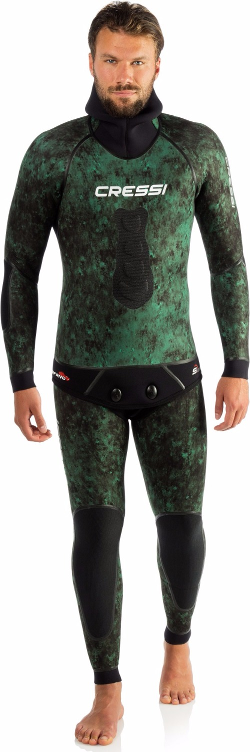 Cressi SCORFANO 5 - 7 MM Wetsuit Diving Suit Water Sports Surfing Snorkeling Scuba Diving