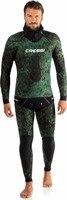 Cressi scorfano 5 7 мм водолазный костюм водные виды спорта, серфинг акваланг для подводного плавания дайвинга