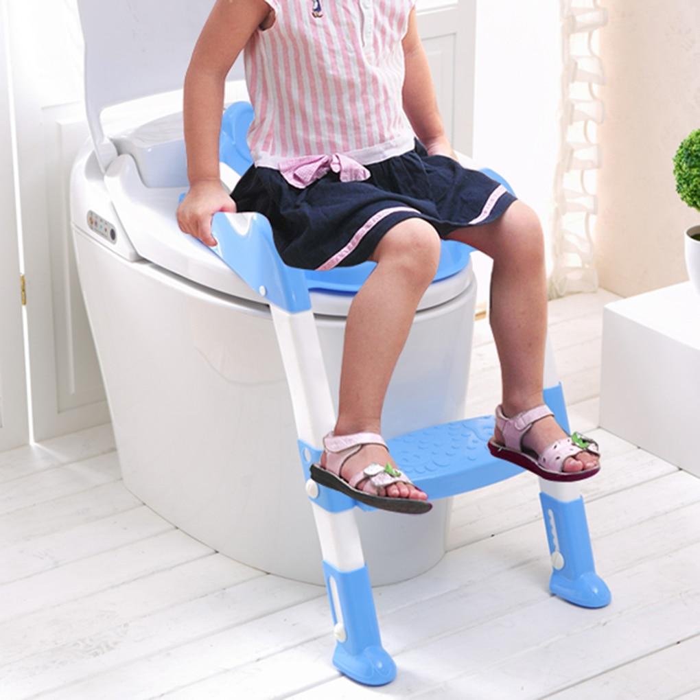 Enfants pot formation échelle siège enfants toilette formateur bambin escabeau Portable voyage sièges étapes