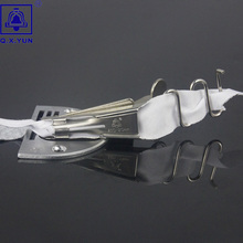 Q. X. YUN оверлок папка клейкая лента Размер 20 мм A10 Хеммер прямой угол Скоба Биндер для швейной машины обвязки кривой кромки