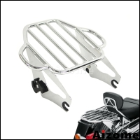 For Tour Pak Road King Street Glide Rear Rack Motorcycle Detachable Luggage Rack For Harley Touring 09 2016 FLHR FLHT FLHX FLTRX