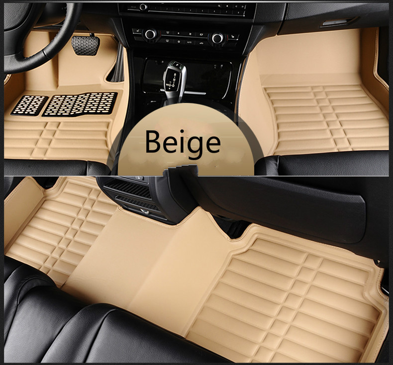 Full Covered Waterproof Carpets Durable Special Car Floor Mats For Renault Duster Fluence Kangoo Koleos Magane Scenic Kadjia