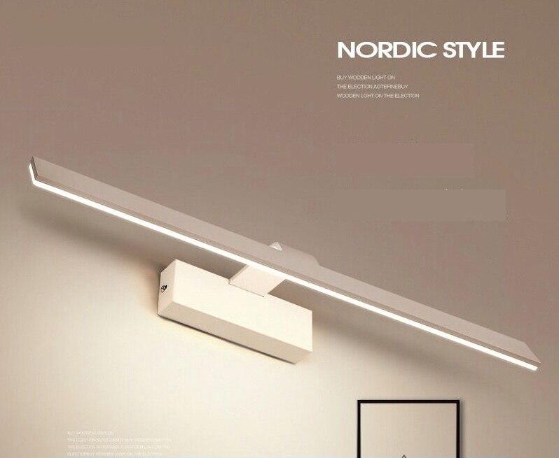 Modern Bathroom 3 3w Acrylic Led Make Up Mirror Lamp Wall: Free Shipping 2018 New Design 3W 12W 3000K 6000K Nordic