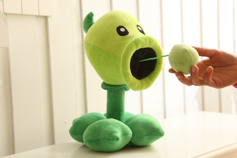 30CM Plants vs Zombies Plush StuffedToys Pea Shooter Pumpkin Sunflower Soft Pillow Cushion Toys Doll Baby Toy for Kids Birthday in Stuffed Plush Plants from Toys Hobbies