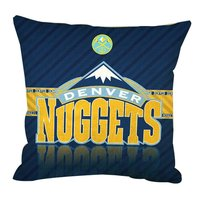 Soft Flannel Zipperer Square Throw Pillows Cover Cushion Case Pillowcase With Denver Nuggets Pillow Case Twin