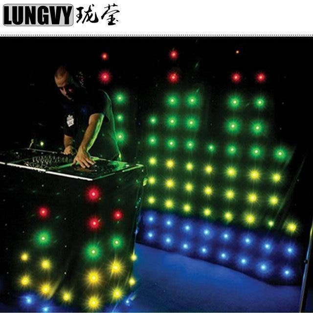 P18 (pitch 18 cm) 2 M * 3 M Led Video Gordijn Professionele Disco ...