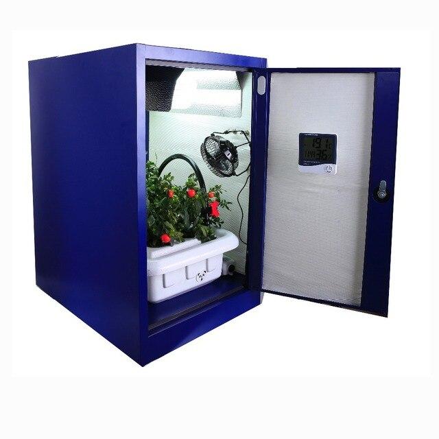 Lovely Plant Indoor Gardening Hydroponic Closet Vegetable Cabinet Mini DIY Grow Box