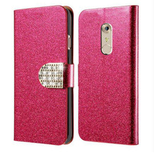 For ZTE AXON 7 Mini Case Flip Cover Stand Wallet PU Leather