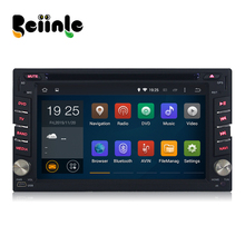 Beiinle Car 2 Din Android Quad Core 800*480 16G Navigation DVD Video GPS Radio   Player for  Universal
