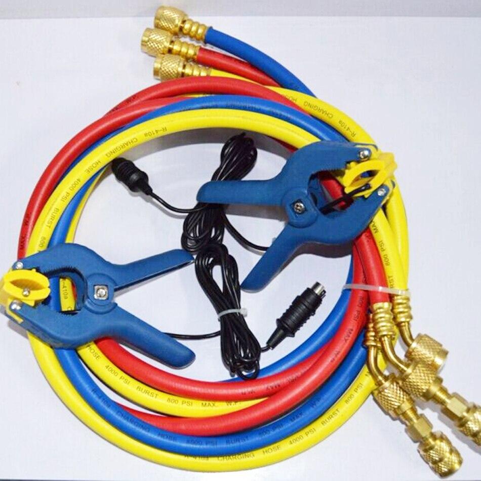 Wk 6889 Digitale Klte Kltemittel Vakuum Manifold Pressure Gauge Kompressor Dianxiaobao 1