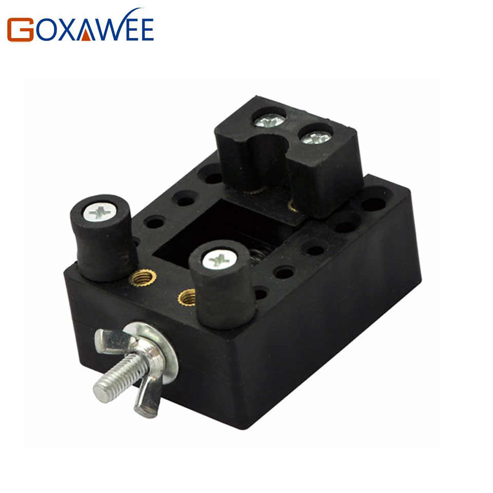 GOXAWEE Mini Adjustable Table Vice Clamp DIY Sculpture Craft Toys Accessories of Power Tools Grinder Vise Power Tool Accessories