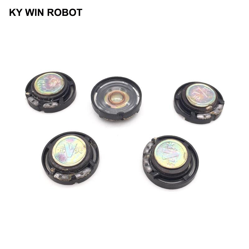 5pcs lot New Ultra thin speaker Doorbell horn Toy car horn 32 ohms 0 25 watt 0 25W 32R speaker Diameter 21MM 2 1CM thickness 7MM in Acoustic Components from Electronic Components Supplies