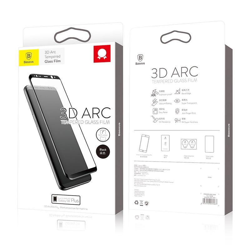 Baseus Էկրանի պաշտպանիչ Samsung Galaxy S8 3D Arc - Բջջային հեռախոսի պարագաներ և պահեստամասեր - Լուսանկար 6