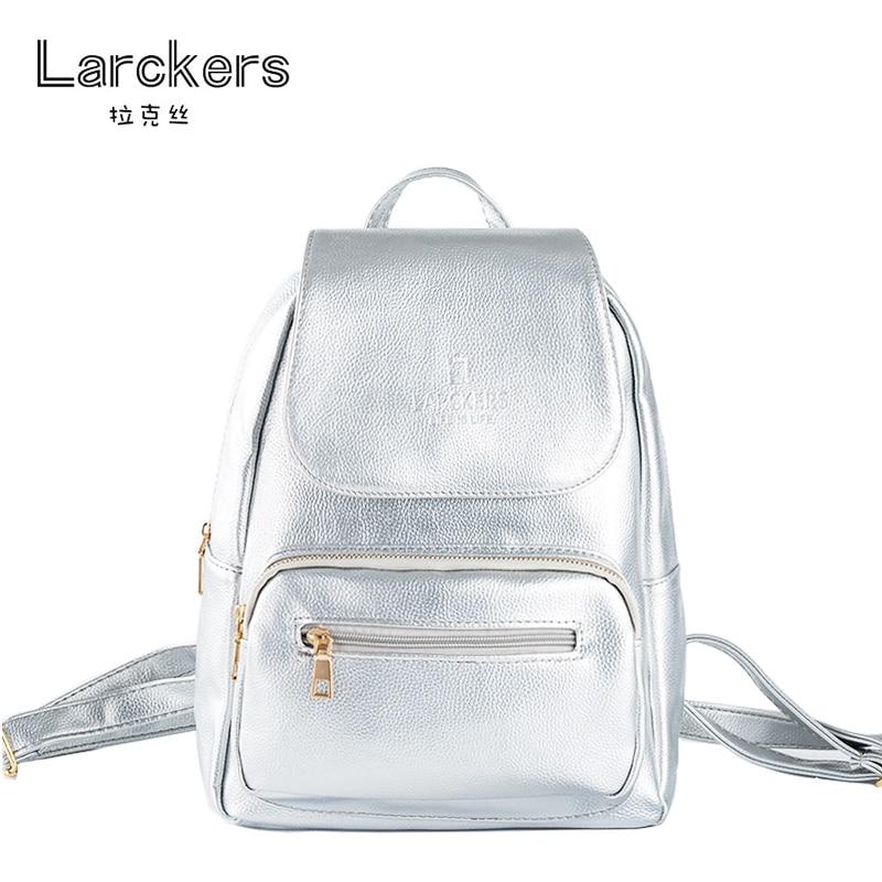 6ef9ccf8b2a84 Skup Tanie Larckers Marka Hot Sprzedaż Proste Mody Pu Kobiet Plecak ...