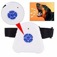 Wasserdicht Hund Aufhören Zu Bellen Anti Bellen Repeller Control Trainer Training Gerät Taste Clicker Ultraschall Hund Anti Rinde Kragen