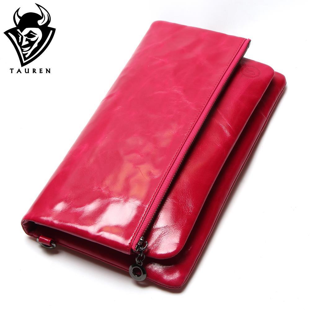 ФОТО New Oil Wax Wallet Genuine Leather Zipper Long Women Lady Purse Fashion Clutch Women Wallet Holder Card Holder Bag