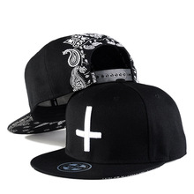 Fashion Cap Kpop Hat Mans Hip Hop Men Bone Streetwear Casquette Black