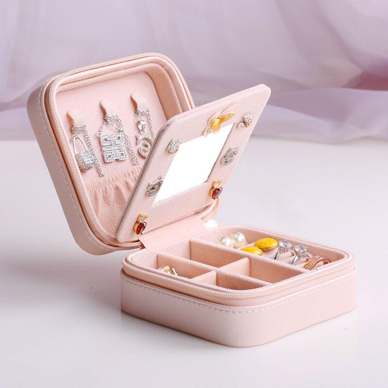 Eiffel Tower double layer Jewelry box Watch Box Grils Portable Jewelry Case Storage Organizer Rings Bracelet Box Wedding Gift