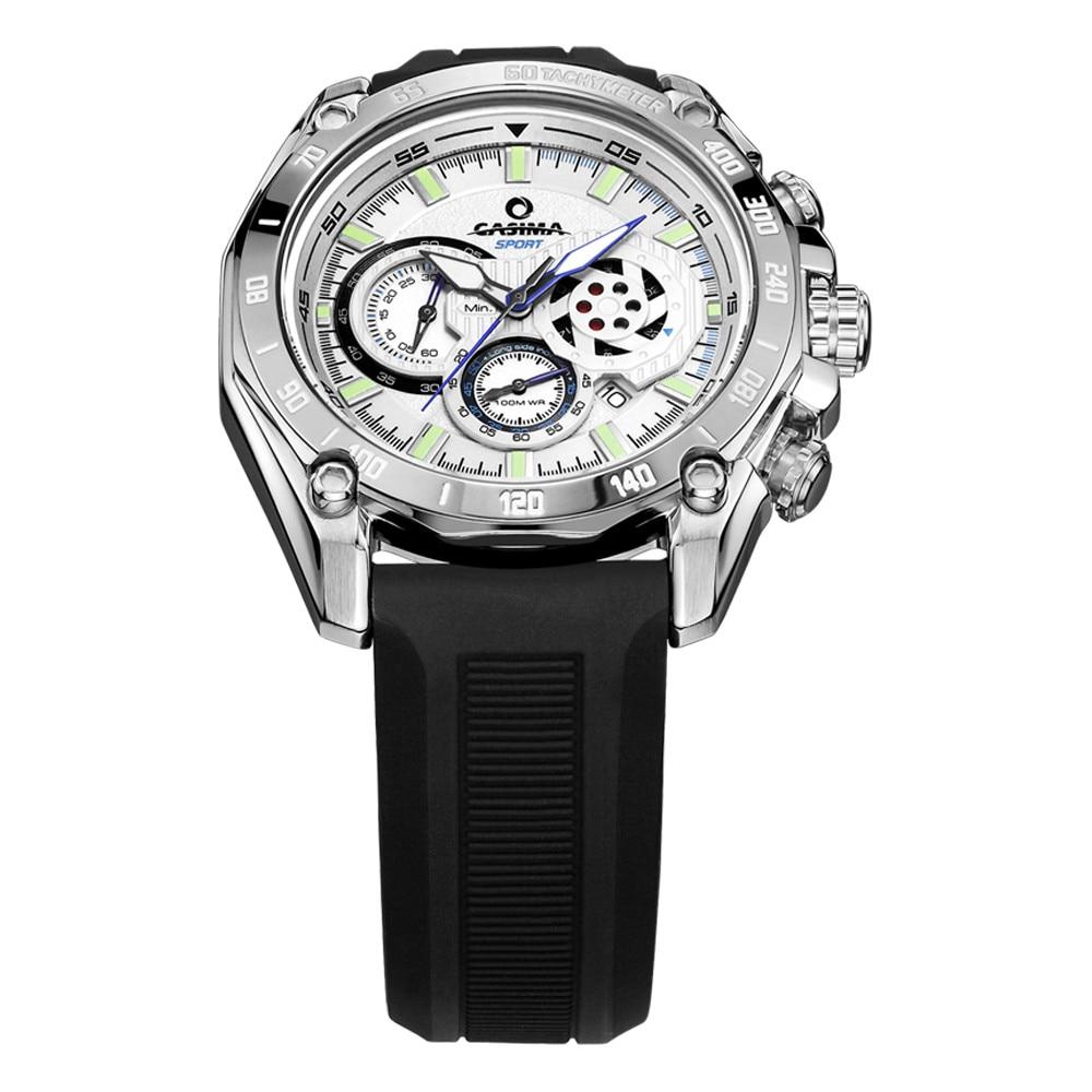 CASIMA Luxury brand sports watches men quartz wrist watch Fashion luminous Relogio Masculino waterproof 100m 8885 цена и фото
