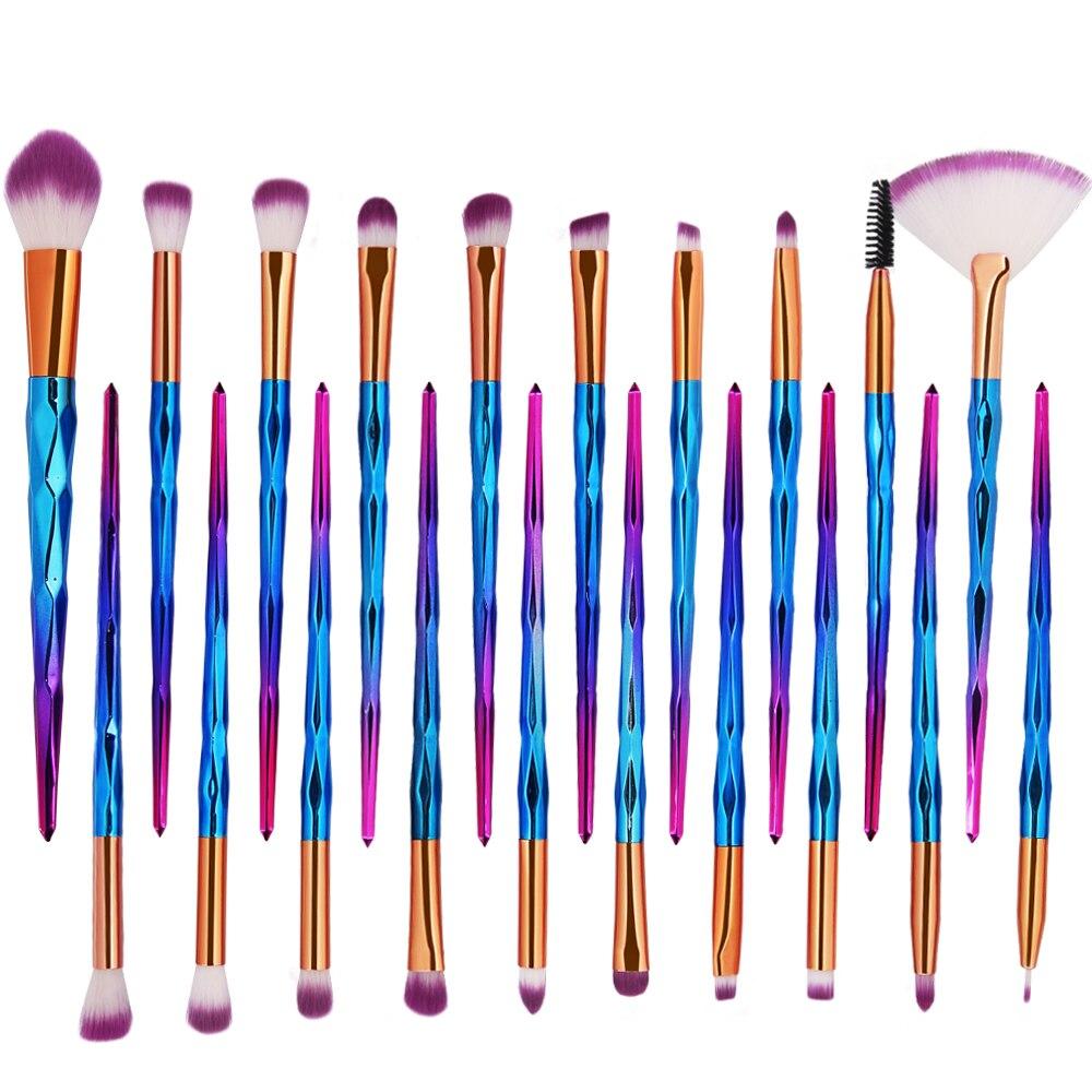 Kits de Ferramentas Fundação Blush Blending Sombra Multifuncional