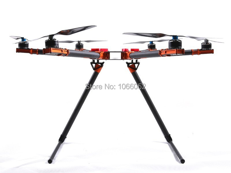 850 850mm foldable with fix landing gear hexacopter full fiber carbon camera drones accessories fpv rc multicopter vs dji s900