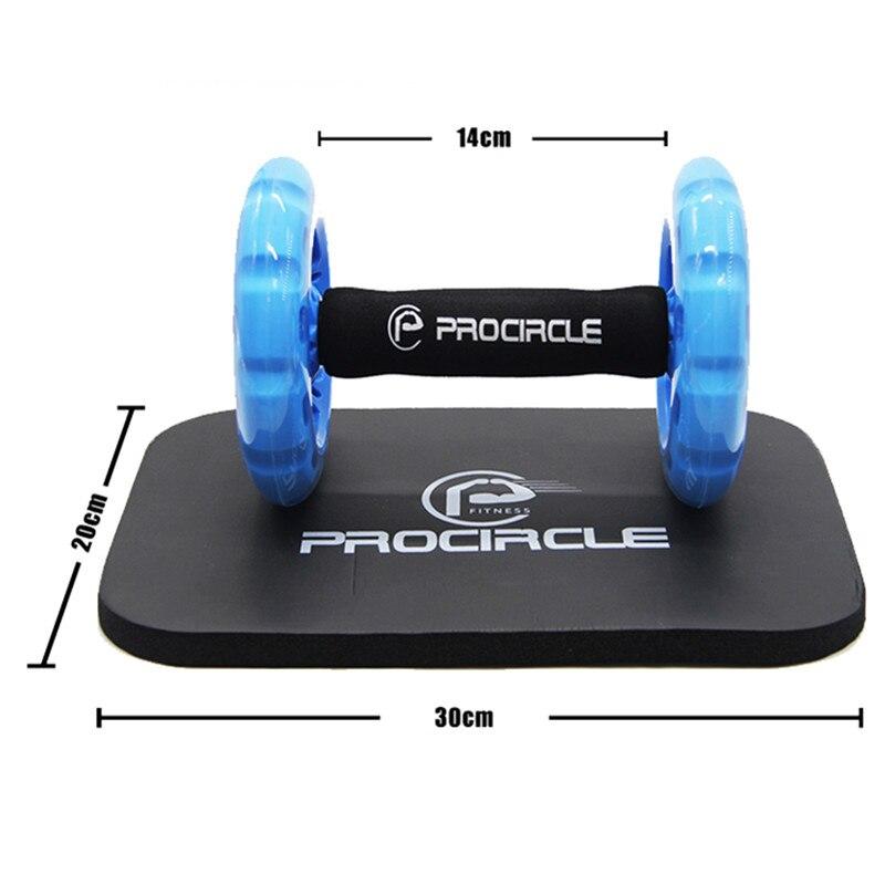 Procircle Ab Roues D'exercice Abdominal Rouleaux Pour Core Trainer D'exercice de Force De Gymnase De Crossfit Corps Fitness Double Roues - 3