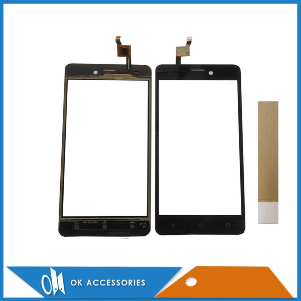 HQ Black Color For Prestigio Wize N3 NX3 NK3 3507 PSP3507 DUO PSP 3507 Touch Screen Digitizer Panel With Tape 1PC/Lot