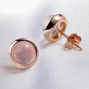 OMHXZJ-Wholesale-Fashion-jewelry-Crystal-pink-Natural-Furong-stone-Rose-Quartz-925-sterling-silver-Round-Stud.jpg