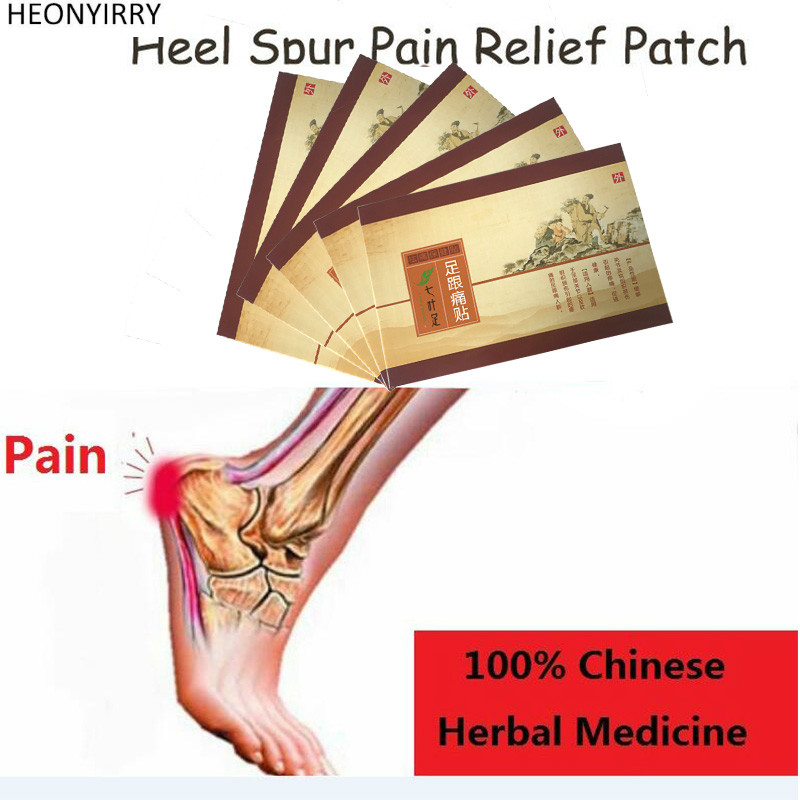 7 Piece Heel Spur Pain Relief Patch Herbal Calcaneal Spur Rapid Heel Pain Relief Patch Foot Care Treatment Plaster foot care massager health care plaster treatment heel pain stimulate the zb pain relief achilles tendinitis medical plasters