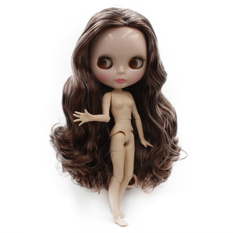 все цены на Nude Doll Similar To Blyth BJD doll, Customized Dolls Can Change Makeup and Dress by DIY 12 Inch Ball Jointed Dolls for Girl 6 онлайн