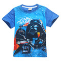 Boys clothes short sleeve Rogue One t shirt boys costume camisetas cartoon children cotton tshirt kids tops jongens kleding