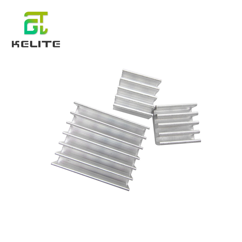 3pcs + Adhesive Raspberry Pi Heatsink Cooler Pure Aluminum Heat Sink Set Kit Radiator For Cooling Raspberry Pi 2 B HAILANGNIAO