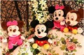 25cm Mickey/Mikey/Miky/Miki Mouse And Minnie/Mini Mouse Stuffed Animals Plush Toys For Children's Gift Kids Toys