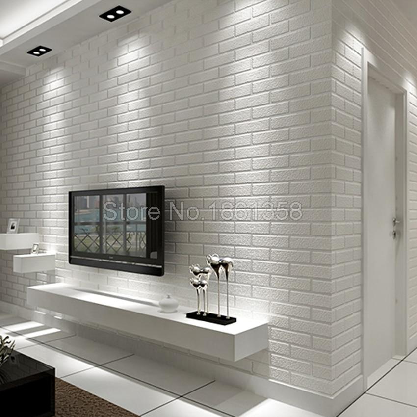Rivestimento parete camera da letto come scegliere i - Revestimiento imitacion ladrillo ...