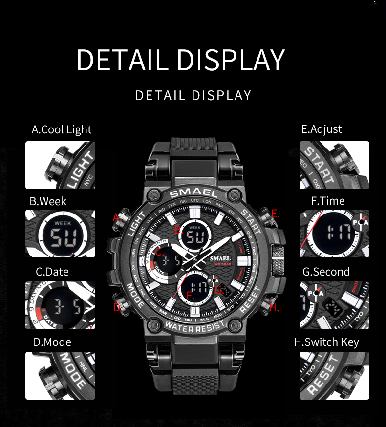 5.men watches military