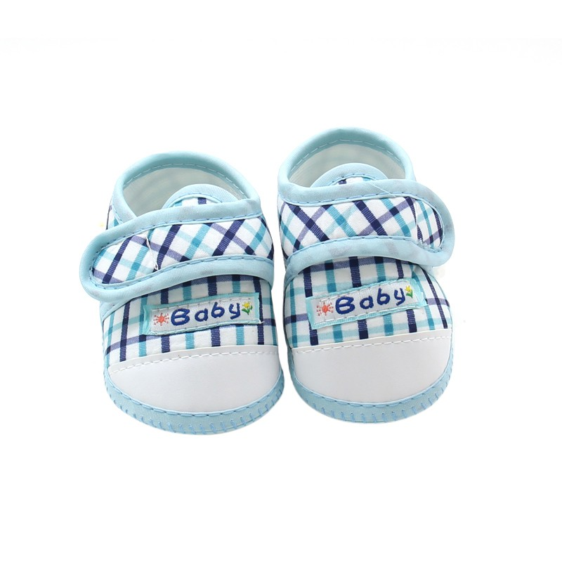 New Lovely Summer Fashion Baby Toddler Cotton Crib Shoes First Walkers Soft Bottom Anti-Slip Shoes Fit For 0-18 Month Baby
