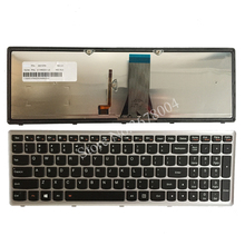 """מקלדת מחשב נייד חדשה עבור Lenovo IdeaPad G500S G505S G510S S500 Z510 להגמיש 15 Z505 מקלדת פריסת ארה""""ב עם תאורה אחורית"""