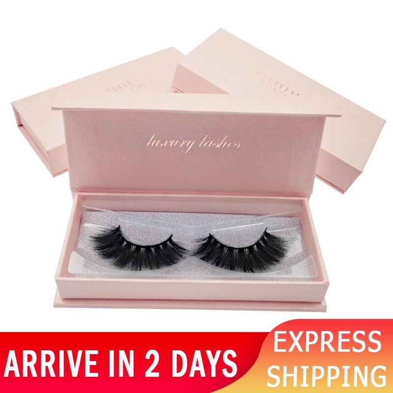 1 Pair Mink Eyelashes Fluffy False Eyelashes Natural 3d Mink Lashes Soft False Lashes Mink 3d Lashes Faux Cils Fake Eye Lash