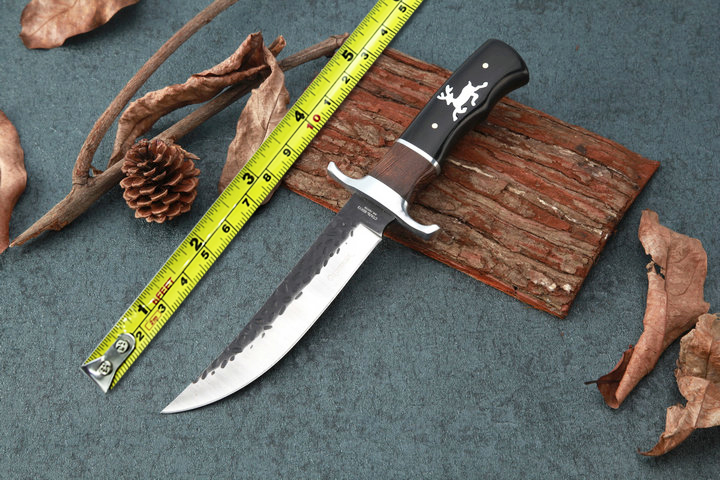 Fixed Blade font b Knives b font Outdoor Bowie font b Knife b font 5CR15MOV Blade