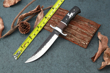 Fixed Blade Knives Outdoor Bowie Knife 5CR15MOV Blade Utility Tactical Hunting Knives Camp Straight Knives High Quality EDC Tool